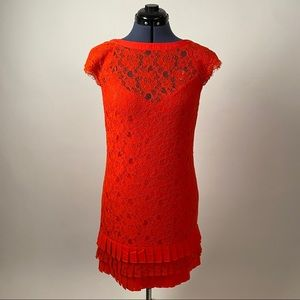 Jessica Simpson Cocktail Dress Coral size 6
